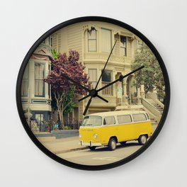 San Francisco Heights and Van Wall Clock
