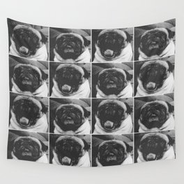 Pancho B/W Wall Tapestry