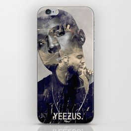 YEE ZUS - the only rapper compared to michael iPhone Skin