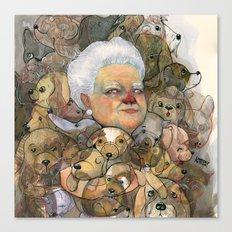 Miss Puppy Canvas Print
