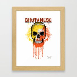 To The Core Collection: Bhutan Framed Art Print