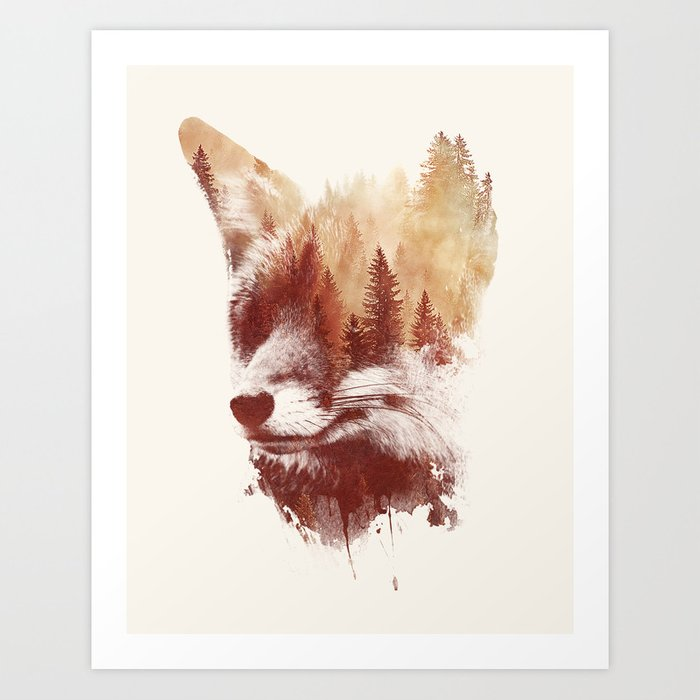 Discover the motif BLIND FOX by Robert Farkas as a print at TOPPOSTER
