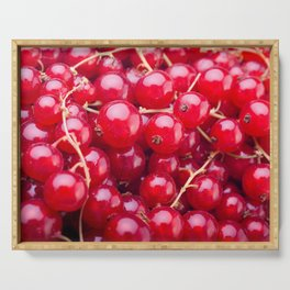 Red Currant Serving Tray