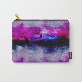 pink and black Carry-All Pouch