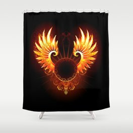 Wings Phoenix Shower Curtain