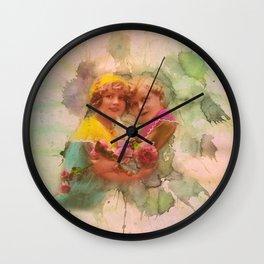 Vintage childhood of the last century Wall Clock
