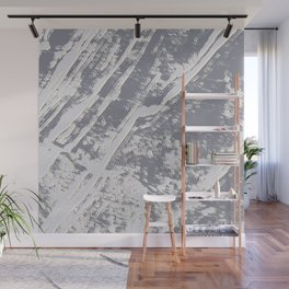 shades of gray marble effect Wall Mural