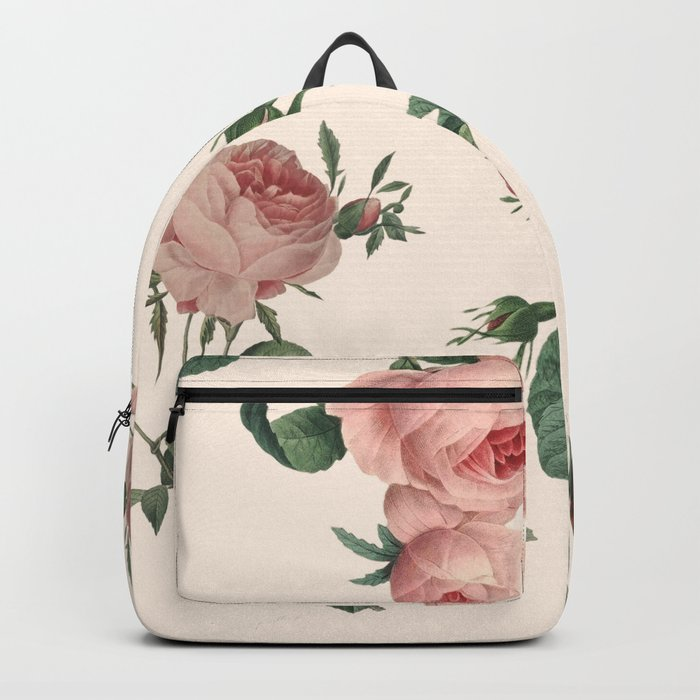 Rose Garden Butterfly Pink Backpack