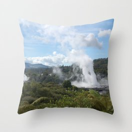 Geyser Throw Pillow
