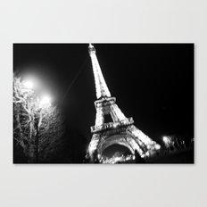 Those Crazy Nights In Paris Canvas Print