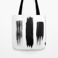 Black lines Tote Bag