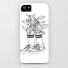 Where have all the flowers gone? iPhone SE Slim Case