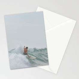 morning surf Stationery Cards