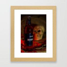 Doomed Framed Art Print