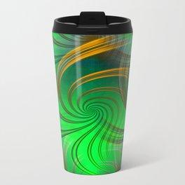 Pathways (green) Travel Mug