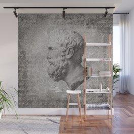 ANCIENT / Head of Epikouros Wall Mural