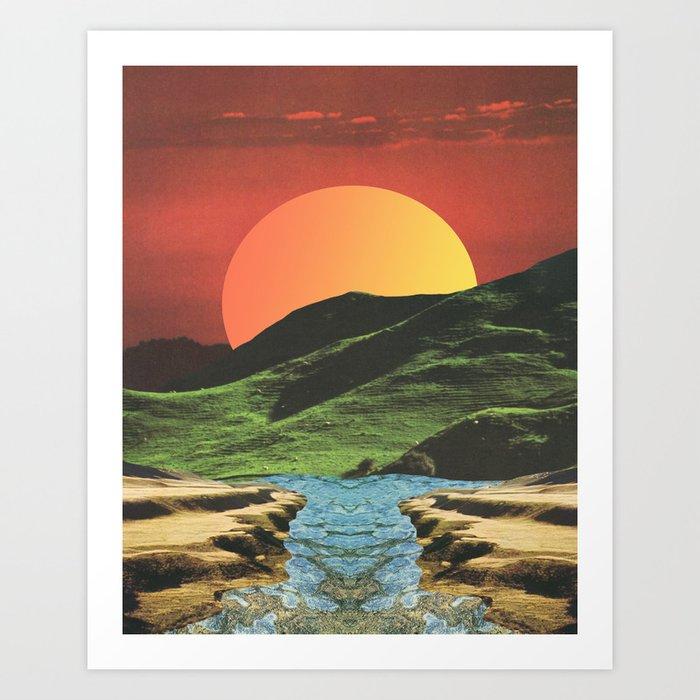 Primary Landscape Art Print