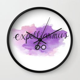 Expelliarmus Wall Clock