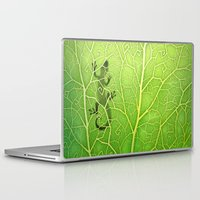 lizard Laptop & iPad Skins featuring lizard by Antracit