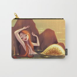 Mermaid in the Shallows Carry-All Pouch