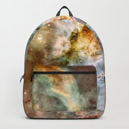 Carina Nebula, Star Birth in the Extreme - High Quality Image Backpack