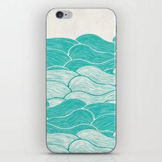The Calm and Stormy Seas iPhone & iPod Skin