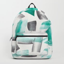 180719 Koh-I-Noor Watercolour Abstract 41| Watercolor Brush Strokes Backpack