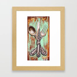 Traditional Conjoined Framed Art Print
