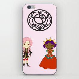 Be my rose bride iPhone Skin