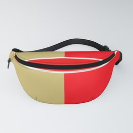 Team Colors 6...red,gold Fanny Pack