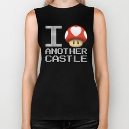 I Love Another Castle Biker Tank