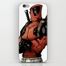 The merc with a mouth iPhone Skin