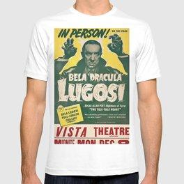 Dracula, Bela Lugosi, vintage poster T-shirt