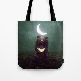my light in the darkness Tote Bag