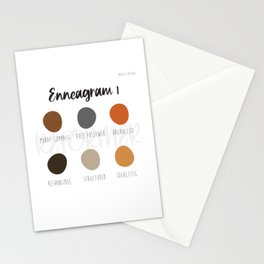Enneagram 1 Stationery Cards