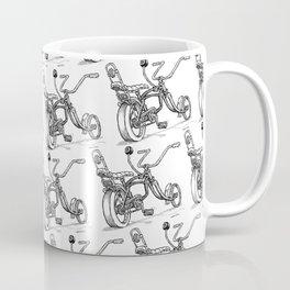 Cartoon Retro Mod 8-Ball Muscle Bike Bicycle Stingray Coffee Mug