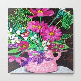 Little Pink Jug Metal Print