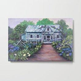 Ivy Cottage Again AC151201e-11 Metal Print