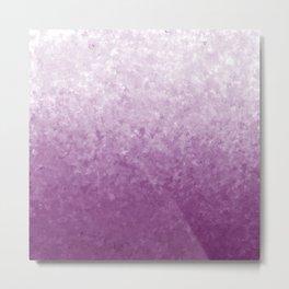 Ombre Purple Metal Print