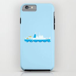 Wes Anderson Series: The Life Aquatic's Belafonte iPhone Case