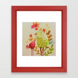 chouchou Framed Art Print