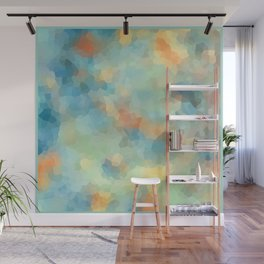 "Colored crystals . ""Sunbeams"" . Wall Mural"