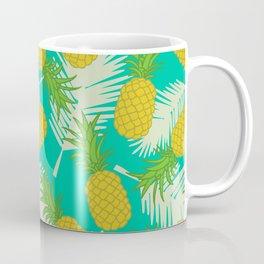 Tropical pineapple pattern Coffee Mug