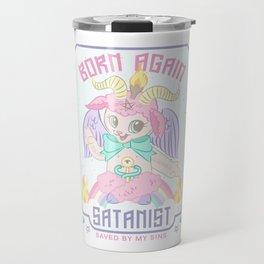 Born Again Satanist Travel Mug