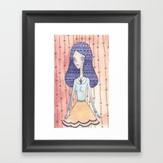 wallflowers Framed Art Print