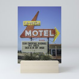 La-Mesa Motel Mini Art Print