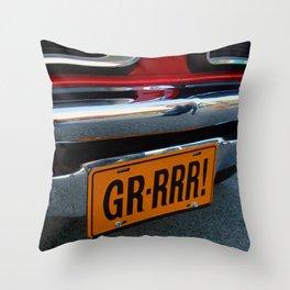 Gr-Rrr! Throw Pillow