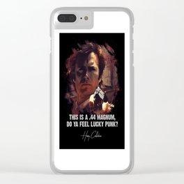 Do Ya Feel Lucky Punk? Clear iPhone Case
