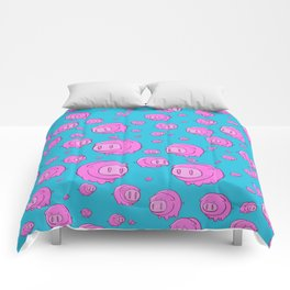 When Pigs Fly, Or Float! Comforters