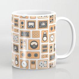 Mission Control - Orange & Black Coffee Mug